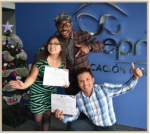 """Estudiante del CEC-EPN gana el concurso """"Le Grand Voyage"""""""